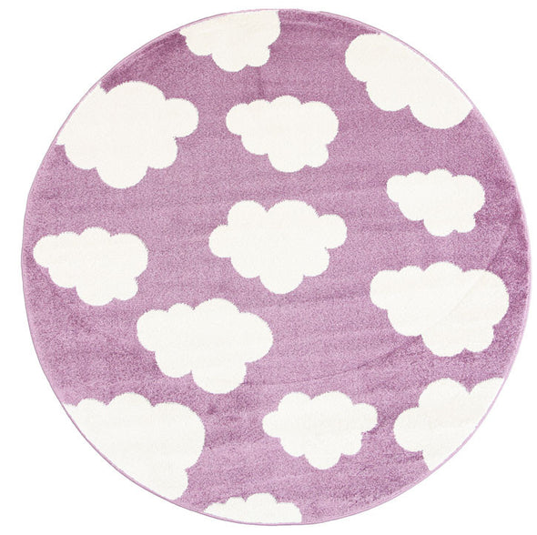 Kids Cloud Pink White