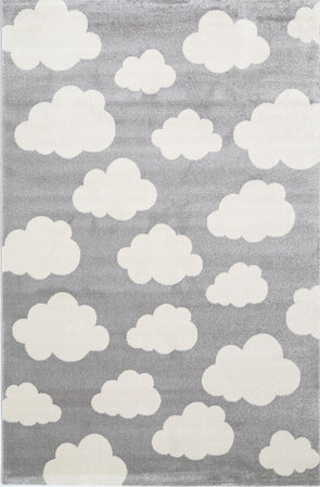 Kids Cloud Grey White