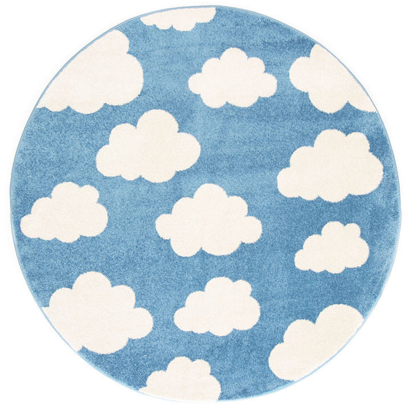 Kids Cloud Blue White