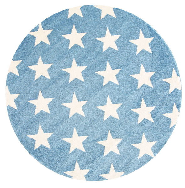 Kids Stars Blue White