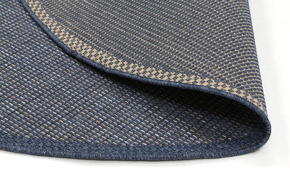 Sydney Navy Blue Indoor Outdoor Rug