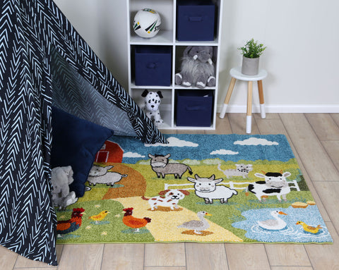 Nova Farm Kids Rugs