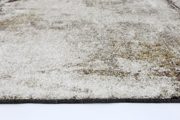 Vision Raw Beige Grey Rug