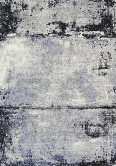 Vision Raw Blue Grey Rug