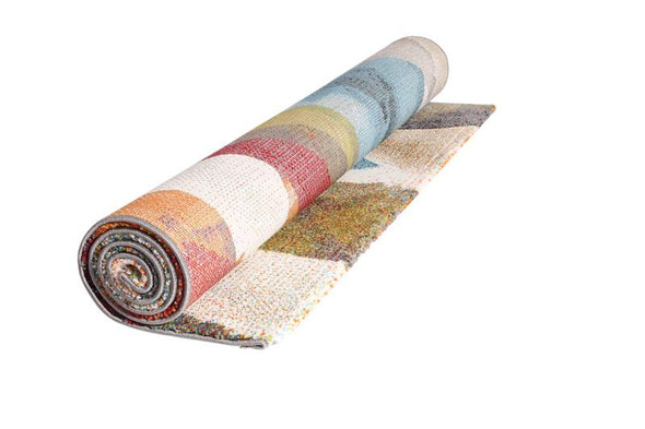 Dianella Contemporary Supa Thick Multi Abstract Rug