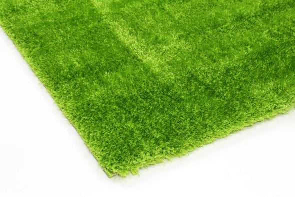 Puffy Soft Shag Fake Grass Like Green