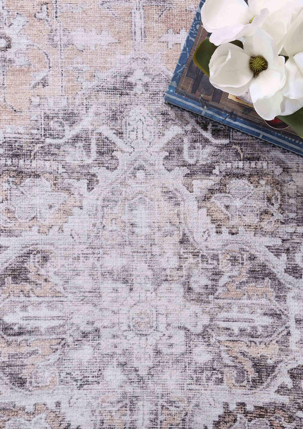 Distressed Vintage Tanasa Blush Rug