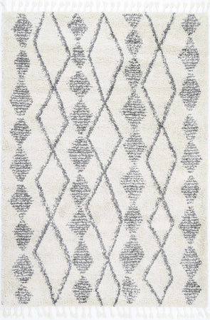Kasbah Zara Tribal Cream Grey Rug