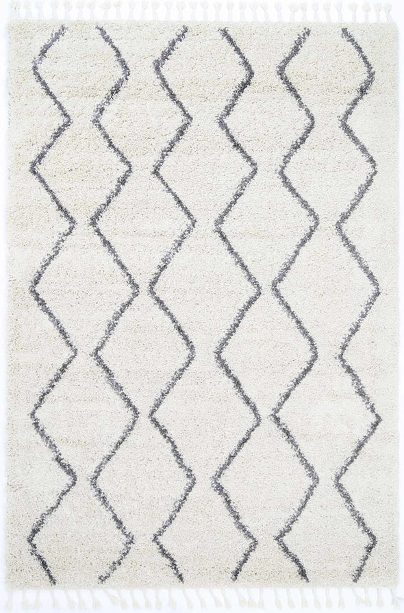 Kasbah Levi Tribal Cream Rug
