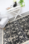Old World Vines Grey Beige Rug
