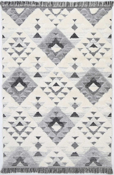 Mono Tribal Diamond Cream Grey