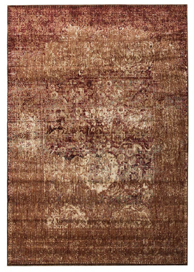 Insight Stunning Designer Rug Copper