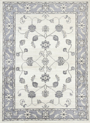 Old World Ziegler Cream Grey Rug