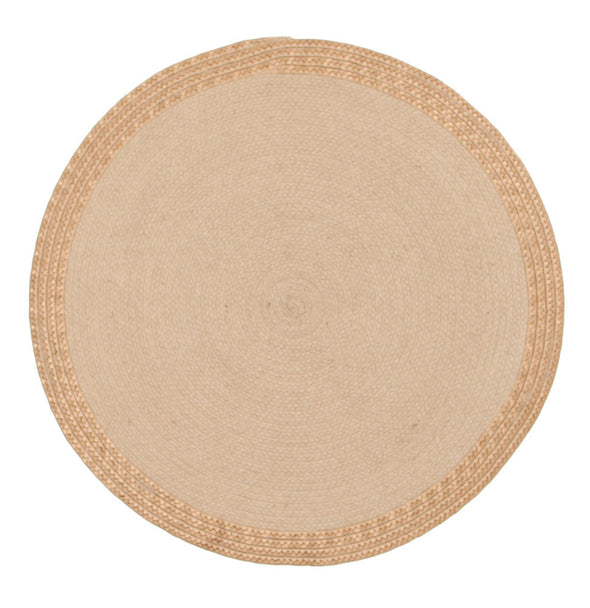 Milano Metallic Copper and Natural Jute Rug