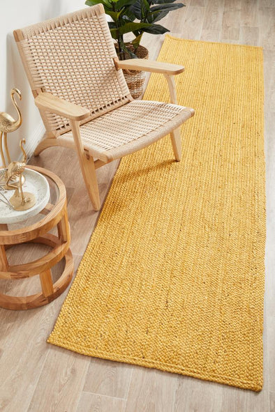 Coogee Yellow Runner Rug