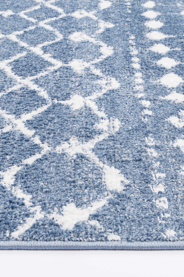 Ermina Tribal Blue Rug