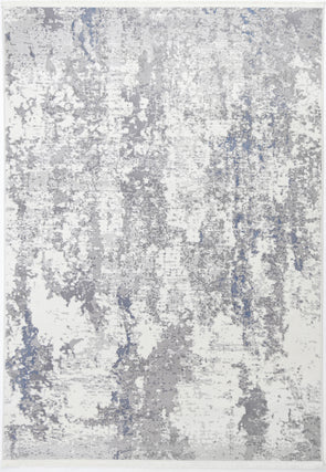 Cordelia One Modern Grey Blue Rug