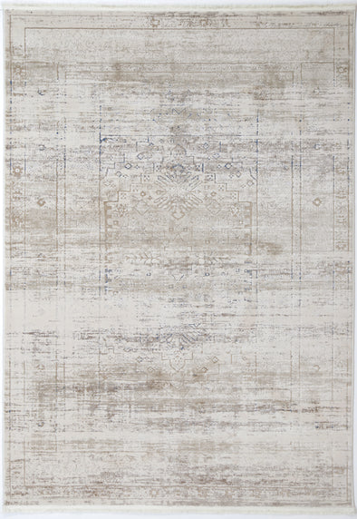 Cordelia Traditional Beige Blue Rug