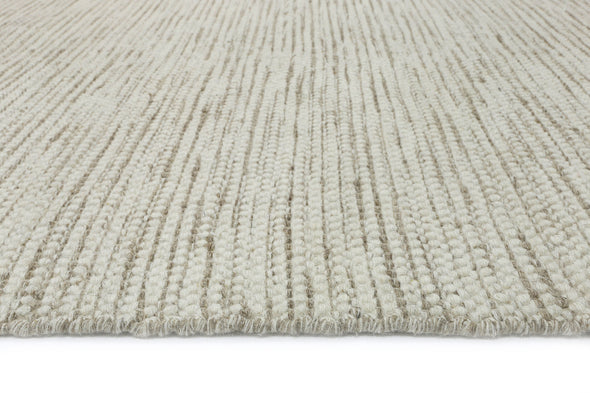 Scandi Beige Reversible Wool Rug