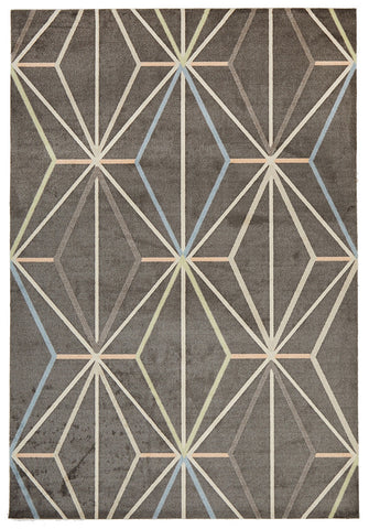 Trance Modern Taupe Rug