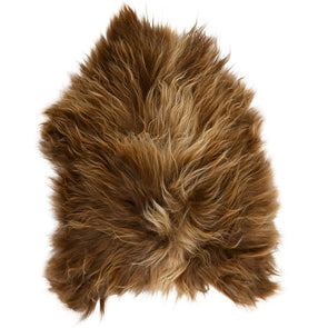 Icelandic Sheepskin Rug - Copper Caramel Tips