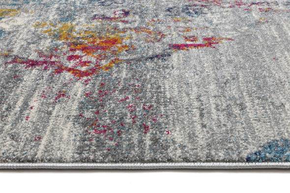 Provance  Multi Grey Azure Rug