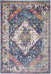 Provance  Navy Multi Bohemian Rug