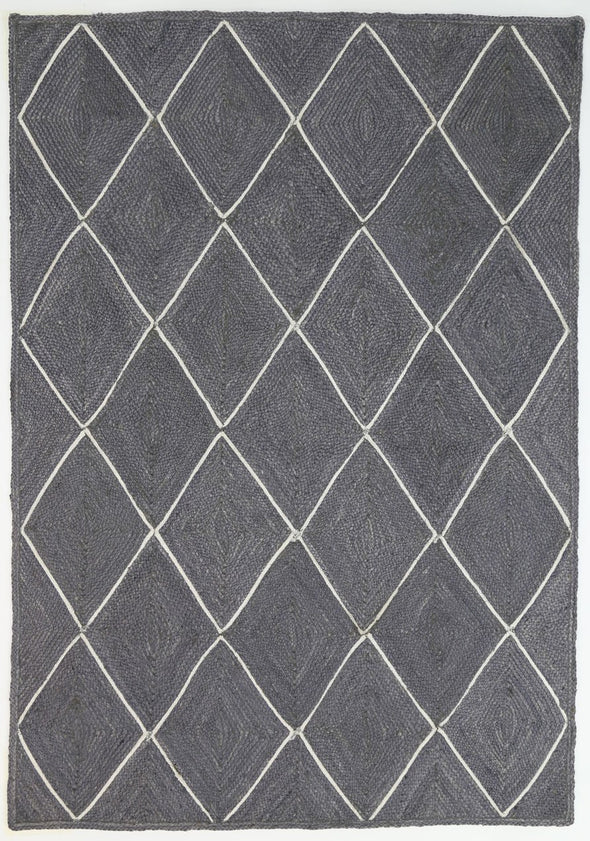 Artisan Natural Diamond Grey Rug