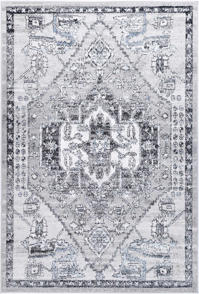 Anatolia Traditional Light Grey Rug
