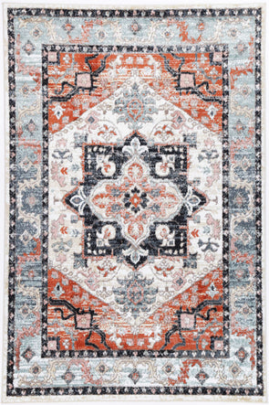 Anatolia Traditional Terracotta Charcoal Rug