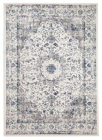 Mist White Transitional Rug