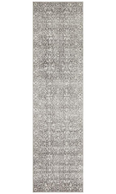 Evoke Pidgeon Grey Transitional Runner Rug