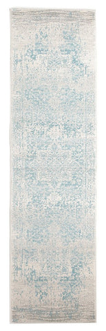 Glacier White Blue Transitional Runner