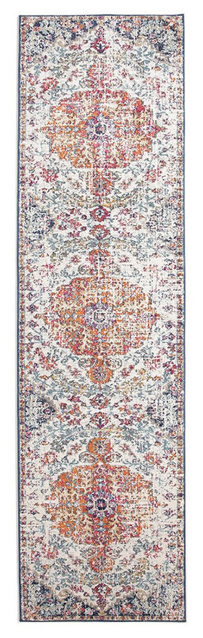 Carnival White Transitional Runner