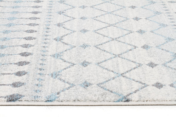 Slate White Transitional Runner