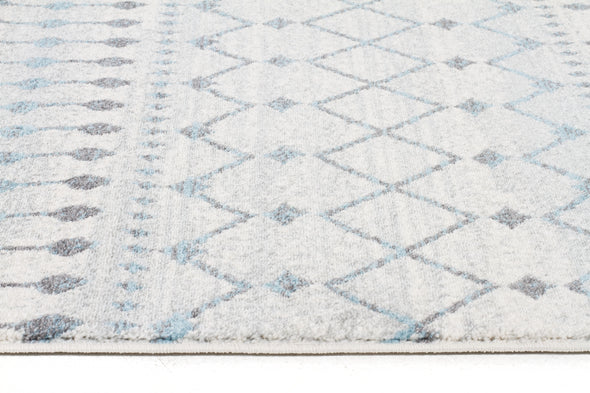 Slate White Transitional Rug