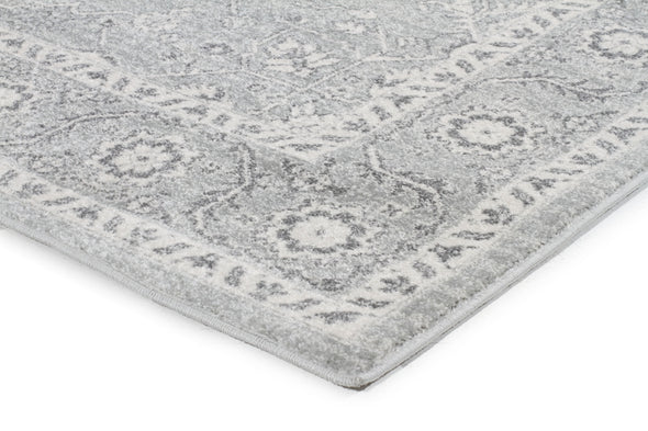 Silver Flower Transitional Runner