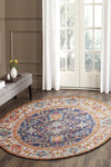 Splash Multi Transitional Round Rug