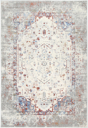 Amelia Grey Multi Contemporary Rug