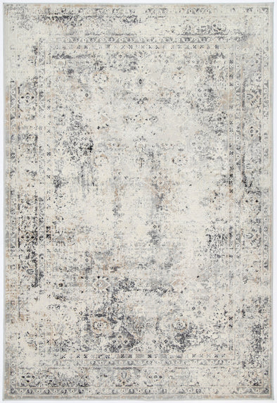 Amelia Beige Grey Contemporary Rug