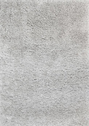 Flokati Super Soft Ultra Thick Shag Rug Silver