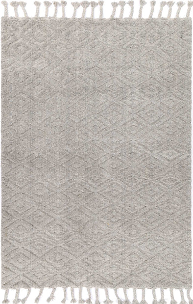 Kochi Plush Diamond Grey Rug
