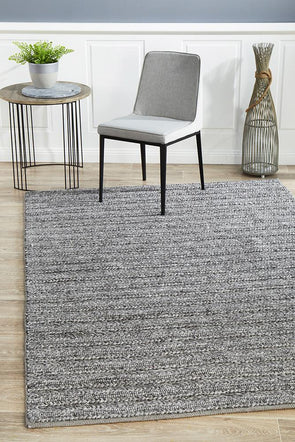 Harvest 801 Wool Steel Rug