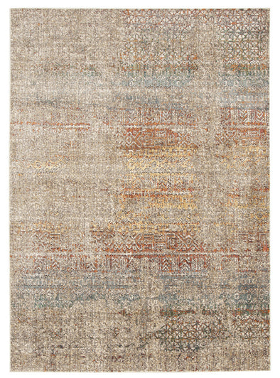 Fluid Rainbows Modern Multi Rug