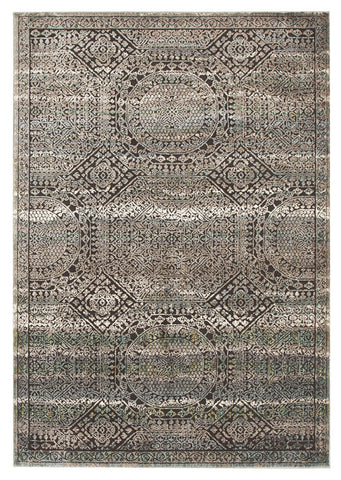 Fluid Morrow Modern Blue Rug