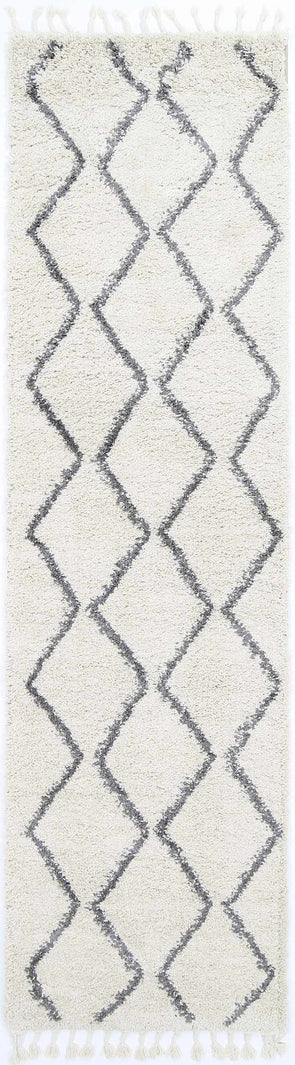 Kasbah Levi Tribal Cream Runner  Rug