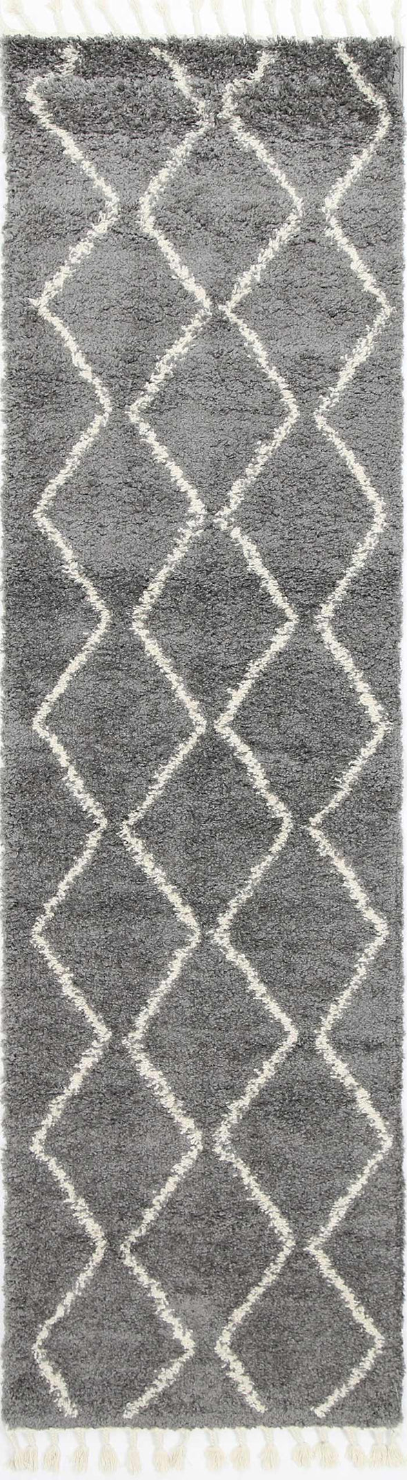 Kasbah Levi Tribal Grey Runner  Rug
