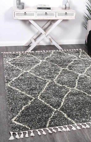 Kasbah Maxen Tribal Grey Rug