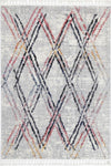 Micha Nordic Grey Multi Tribal Rug
