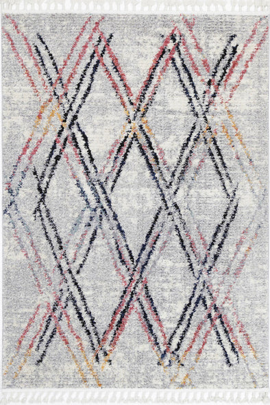 Micha Nordic Grey Muti Tribal Rug